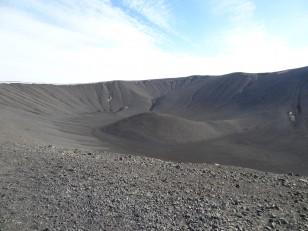 Le Nord de l'Islande : Le cratère du volcan Hverfjall
