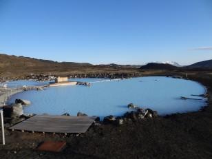 Le Nord de l'Islande : Les bains chauds de Mývatn