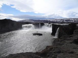 Le Nord de l'Islande : La « chute des Dieux » de Goðafoss