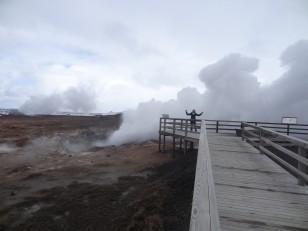La péninsule de Reykjanes : Les fumerolles de Gunnuhver
