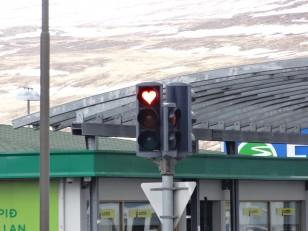 Le Nord de l'Islande : Les feux tricolores d'Akureyri