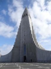 Reykjavik : L'église d'Hallgrímskirkja