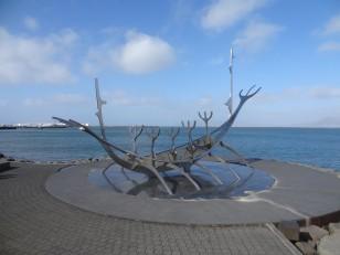 Reykjavik : Le « Sun Voyager »