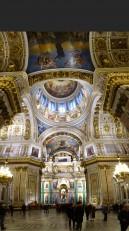 Saint-Pétersbourg: L'intérieur de la cathédrale
