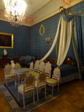 Saint-Pétersbourg: La chambre bleue du palais Youssoupov
