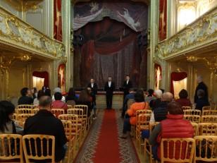 Saint-Pétersbourg: Le théâtre du palais Youssoupov