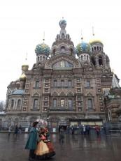 Pétersbourg: La fameuse cathédrale Saint-Sauveur-sur-le-Sang-Versé