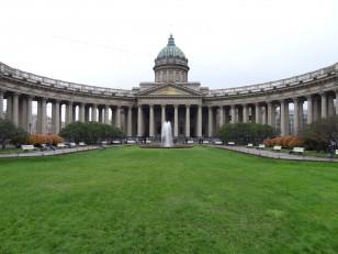 Saint-Pétersbourg: La cathédrale Notre-Dame-de-Kazan