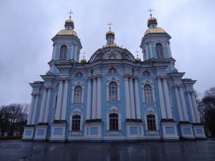 Saint-Pétersbourg: La cathédrale Saint-Nicolas-des-Marins