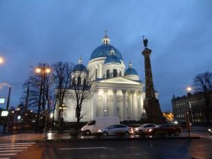 Saint-Pétersbourg: La cathédrale de la Trinité
