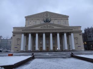 Moscou: Le théâtre Bolchoï