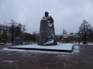 Moscou: Le monument de Karl Marx