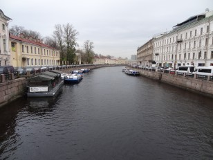 Saint-Pétersbourg: L'un des 342 ponts