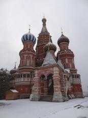 Moscou: La cathédrale Basile-le-Bienheureux
