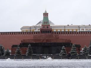 Moscou: Le mausolée de Lénine