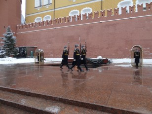 Moscou: La relève de la garde