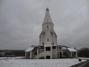 Moscou: L'une des églises orthodoxes du parc de Kolomenskoye