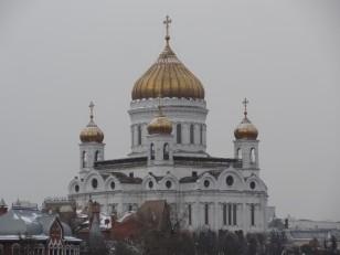 Moscou: La cathédrale du Christ Sauveur