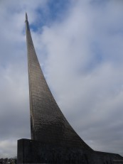 Moscou: Le musée de l'astronautique