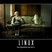 Linux grandma can do it