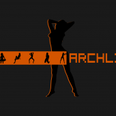 Orange archlinux 1920x1200